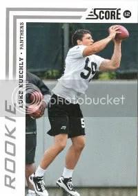 2012 Score Luke Kuechly Rookie Card