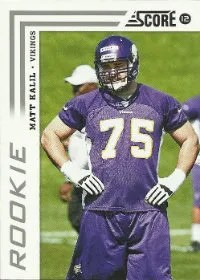 2012 Score Matt Kalil RC Card