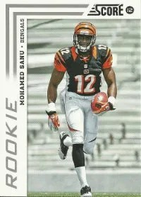 2012 Score Mohamed Sanu Rc Card