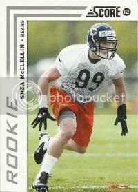 2012 Score Shea McClellin RC Card