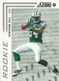 2012 Score Stephen Hill Rookie Card