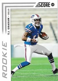 2012 Score T.J. Graham Photo Variation RC Card