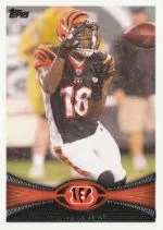 2012 Topps A.J. Green Base Card