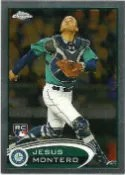 2012 Topps Chrome Jesus Montero Rookie
