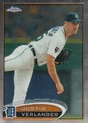 2012 Topps Chrome Justin Verlander Base Card #93