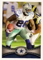 2012 Topps DeMarco Murray SP Photo Variation Base Card #82