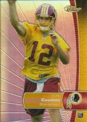 2012 Topps Finest Kirk Cousins RC Card #140
