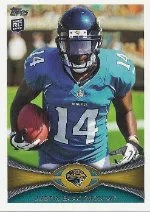 2012 Topps Justin Blackmon SP Photo Variation RC