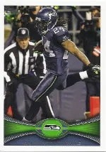 2012 Topps Marshawn Lynch Photo SP