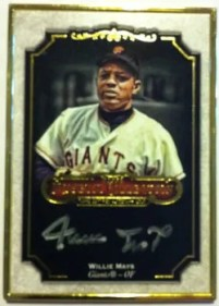2012 Topps Museum Collection Willie Mays Autograph