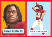 2012 Topps Robert Griffin III Target Exclusive Red Border