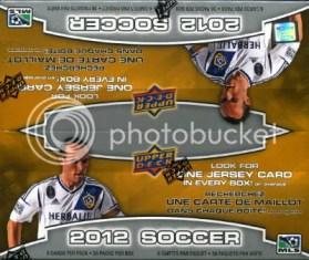 2012 Upper Deck MLS Soccer Box