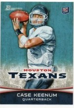 2012 Bowman Case Keenum Base Card