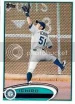 2012 Topps Series 2 Ichiro Base card