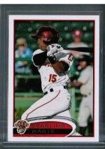 2012 Topps Pro Debut Starling Marte Variation