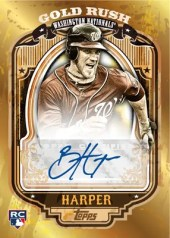 2012 Bowman Bryce Harper Wrapper Redemption Auto