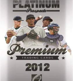 2012 Onyx Platinum Prospects Baseball Pack Photo