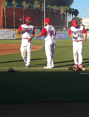 Rashun Dixon and Michael Choice Stockton Ports
