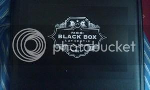 2012 Panini Black Box - Las Vegas Industry Summit
