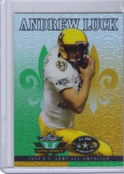 2012 Leaf Andrew Luck US Army Bowl Valiant