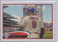 2012 Topps Series 2 Ryan Howard Variation