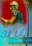 2012 Topps Finest Andrew Luck Autograph 15