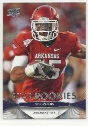 2012 Upper Deck Greg Childs Rookie RC Football Card
