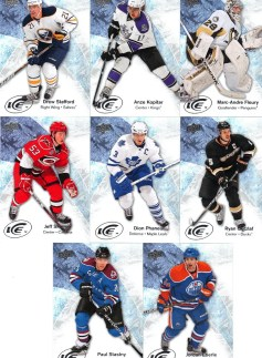 2011-12 Upper Deck SPx Ice Bonus Card #28 Drew Stafford