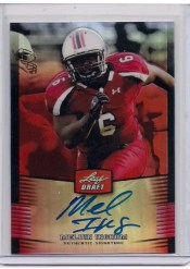 2012 Leaf Metal Draft Melvin Ingram Autograph