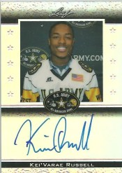 2012 Leaf Metal Draft U.S. Army Autograph