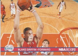 11-12 Panini NBA Hoops Blake Griffin Action Photos
