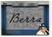 2012 Topps Series 2 Yogi Berra Historical Stitches