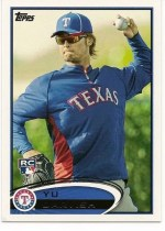2012 Topps Series 2 Yu Darvish Rookie RC Variation