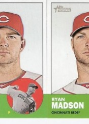 2012 Topps Heritage Ryan Madson Error Sp Card