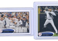 2012 Topps Series 2 Derek Jeter Base Variation