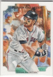 2012 Topps Museum Collection Wade Boggs Canvas