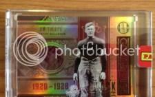 2012 Panini Black Box Jim Thorpe Gold Standard 1/1