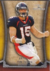 2011 Topps 5 Five Star Tim Tebow Base Card