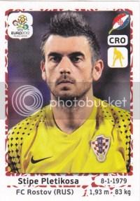 2012 Panini Euro Futbol Stickers Pletikosa