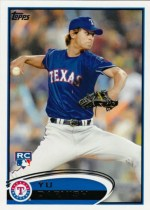 2012 Topps Series 2 Yu Darvish Rookie RC