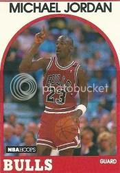 1989-90 Hoops Michael Jordan Card