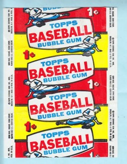 1957 Topps Baseball Wrapper 1 Cent