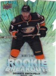 2011-12 Upper Deck Series 2 Rookie Breakouts Devante Smith-Pelly Card #/100