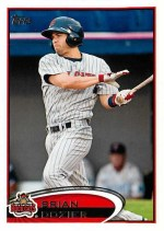 2012 Topps Pro Debut Brian Dozier Base