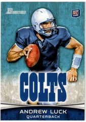 2012 Bowman Andrew Luck Rookie RC Card