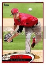 2012 Topps Pro Debut Tyler Skaggs Base