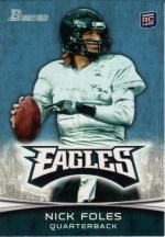2012 Bowman Nick Foles Base RC