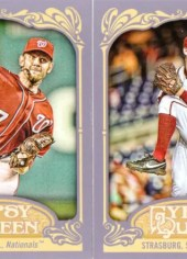 2012 Topps Gypsy Queen Stephen Strasburg Sp Photo Variation