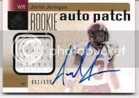 2011 Sp Authentic Jerrel Jernigan Autograph RC /699