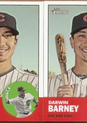 2012 Topps Hertiage Darwin Barney Base Card